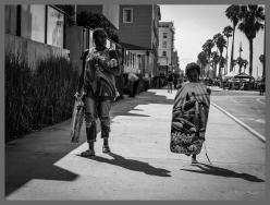 Momma's Talkin'..., Venice Beach, CA, ©2016 Reginald Foster, All Rights Reserved
