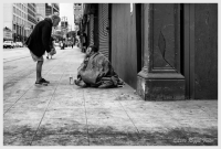 12Jun2016 - Homeless #5, The Discussion #2, DTLA, Los Angeles, CA, June 2016, Los Angeles, CA, June 2016